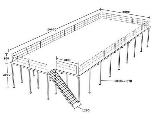 整体仓库货架; 仓库货架设计图
